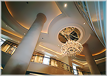 Glassfiber Reinforced Gypsum Ceiling Dome